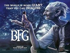 THE BFG BIG FRIENDLY GIANT GGG GRANDE GIGANTE GENTILE POSTER STEVEN SPIELBERG