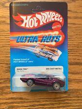 Vintage Hot Wheels1983 Ultra Hots Purple Quick Trik # 7295 MOC