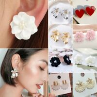 Fashion Women Boho Flower Drop Dangle Earrings Ear Stud Jewelry Holiday Gif New