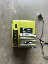 Ryobi Lithium 24v battery Op242 and charger Op140 Tested Working