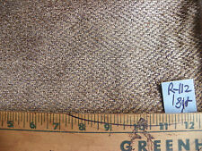 Brown Chevron Print Chenille Fabric / Upholstery Fabric 1 Yard R112