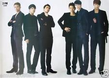 """2PM """"STANDING IN BLACK SUITS AND BOOTS"""" POSTER - K-Pop Music, Korean Boy Group"""