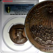 ITALY Milan CARDINAL GEORGES DE AMBOISE Conquest of Milan 1500 PCGS SP63 BN TOP