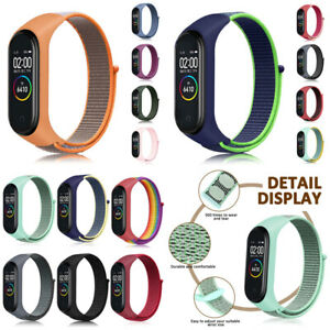Nylon Loop Band Strap Wristband Smart Watch Replaceable for Xiaomi Mi band 5/6 #