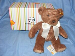 Steiff 2021 Cosy Year Bear 113536 Brand New Gift Boxed