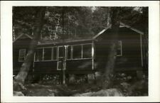 Cabin in Woods - Center Harbor NH Cancel Real Photo Postcard