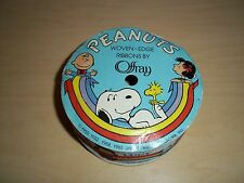 Vintage Offray Peanuts Snoopy, Linus, Lucy, Ribbon 3 Yards
