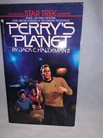 1984 Bantam Book Star Trek Perry's Planet Paperback Novel