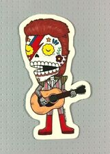 "Day of the Dead David Bowie Sticker 4"" Jose Pulido Music"