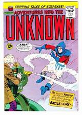 ADVENTURES INTO THE UNKNOWN #156 - 1965 Silver Age - Nemesis - F/VF