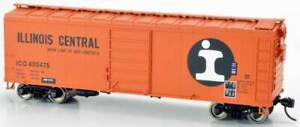 Bowser  ILLINOIS CENTRAL 40' Box Cars (Assorted Car #'s) NIB RTR *FREE SHIPPING