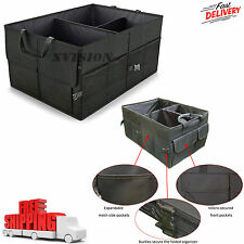 Car Trunk SUV Cargo Organizer Foldable Collapsible Multipurpose Storage Box Bag