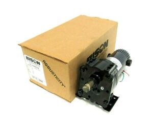 NEW BISON 507-01-106AX GEAR MOTOR 10.6:1 90V 1/8HP 50701106AX