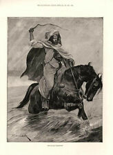 The Sultan's Messenger   -  by R. Caton Woodville   -  Horse    -   1893