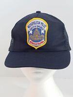 Metropolitan Police District of Columbia Blue Mesh Ball Cap Hat Snapback