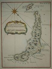 Juan fernandes old map Chile Chili old