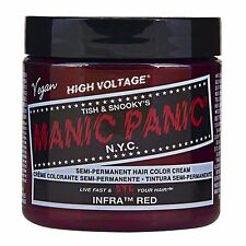 Manic Panic Vegan Semi Permanent Hair Color Cream 118 mL Infra Red