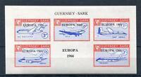 GUERNSEY-SARK EUROPA 1966 SHEET UNMOUNTED MINT