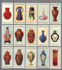 CIGARETTE CARDS.Ogdens.MODERN BRITISH POTTERY.(1925)Set