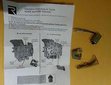 TOYOTA A245E 2 Shift solenoids + TCC Solenoid Kit 2006 Rostra Fast Shipping