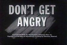 Anger Management Tips in Vintage Psychology Movie DVD