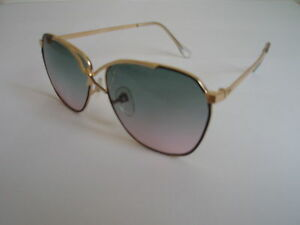 Vintage Bohemian Blue Tinted Boho Hippie 70s Sunglasses