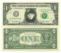 PAUL McCARTNEY VRAI BILLET de 1 DOLLAR US ! Collection The BEATLES Wings CARTNEY