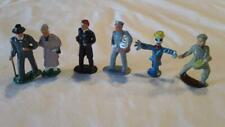 6 VINTAGE BARCLAY LEAD FIGURES - VERY NICE CONDITION - FREE SHIPPING