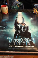 SDCC COMIC CON 2010 TRON LEGACY MOVIE POSTER LIMITED EDITION COLLECTOR POSTER