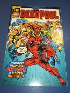 Deadpool #0 NM Gem Wow