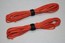 7ft Ultralight Whoopie Slings - Amsteel - Orange - Hammock Suspension - USA