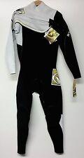 BODY GLOVE Men's 3/2 PRIME Slant Zip Wetsuit - Black/White - ML - NWT