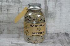 Seaweed and Chamomile Bath Salt Aromatherapy soak with dead sea salt detox  400g