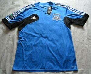 BRAND NEW w/ Tags San Jose Earthquakes Adidas Training Soccer Jersey - Size L
