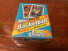 1992-93 Topps Basketball Series 2 Box Unopened Sealed GOLD JORDAN & SHAQ M32