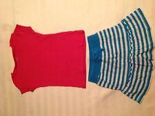 Children's Place Skirt and Cherokee Shirt Sz 5/6