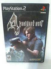 Resident Evil 4 PlayStation PS2 Black Label Complete FREE SPEEDY SHIPPING