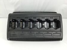 Motorola Impres WPLN4121BR 6 Bank Battery Charger