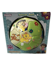 Franklin Youth Size 3 Soccer Ball Dora The Explorer And Pets New In Box