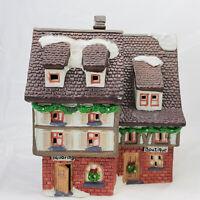 O'well Dickens Keepsake Porcelain Lighted Boutique House Holiday Village Dept 56