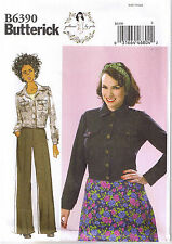 Vtg 40s Retro Rosie the Riveter Work Jacket Sew Pattern by Gertie 6 8 10 12 14