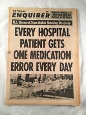 National Enquirer February 18 1968 Mankind Extinct Tabloid Newspaper Vintage