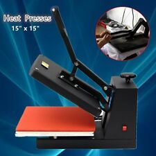Heat Press Transfer T-Shirt Mug Hat Plate Cap Sublimation Machine Digital 110V