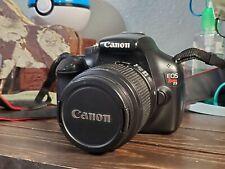 Canon EOS Rebel T3 12.2MP Digital SLR Camera - Black (Kit w/ EF-S 18-55mm IS II…