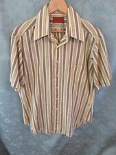Late 60's ~ Early 70's Sears Cape Collar SS Shirt Size 16.5 Classic 60's colors