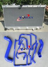 For Subaru Impreza WRX STI GG GD 1.6L/2.0L/2.5L 02-07 Aluminum Radiator & Hose