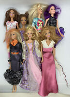 Lot of 7-  1999 Barbie Dolls Mattel As Is As Shown No Reserve