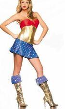 Ladies Wonder Woman Superheroes  Fancy Dress Hen Party size 8