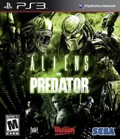 Aliens vs. Predator Sony PlayStation 3 PS3 Game No Manual Tested