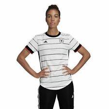 Adidas Mujer DFB Camiseta Em 2020 Alemania Home Jersey Mujer Blanco Negro